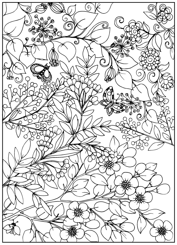 coloring books for adults flowers six dahlia flower flowers adult coloring pages books for coloring adults flowers