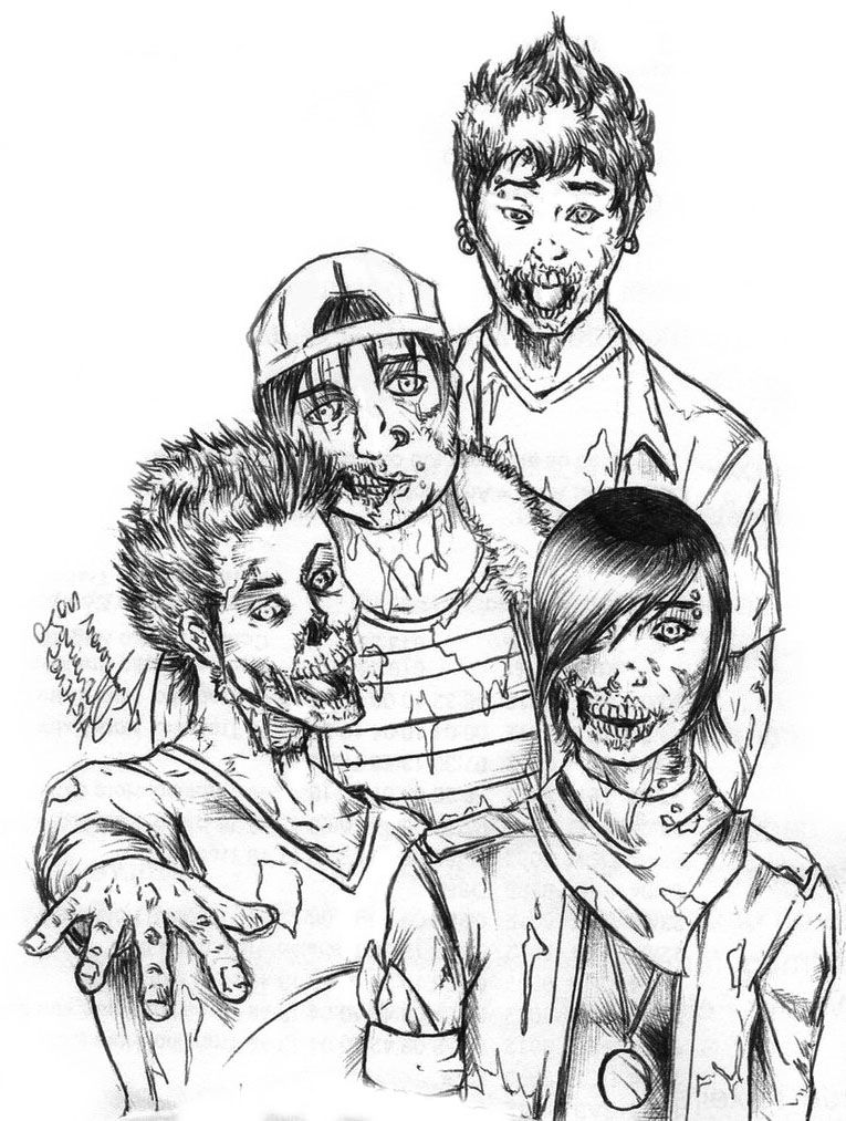 coloring books for adults kohls four zombie coloring page coloring pages adult coloring adults books for kohls coloring