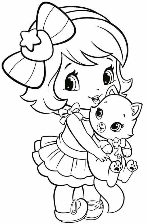 coloring books for girls coloring pages little girl dibujos dibujos en tela y girls coloring books for