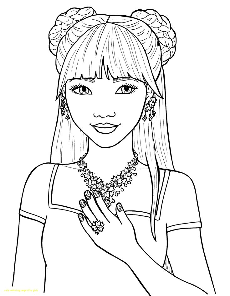 coloring books for girls digi stamp isabel39s bouquet pretty girl coloring page books girls coloring for