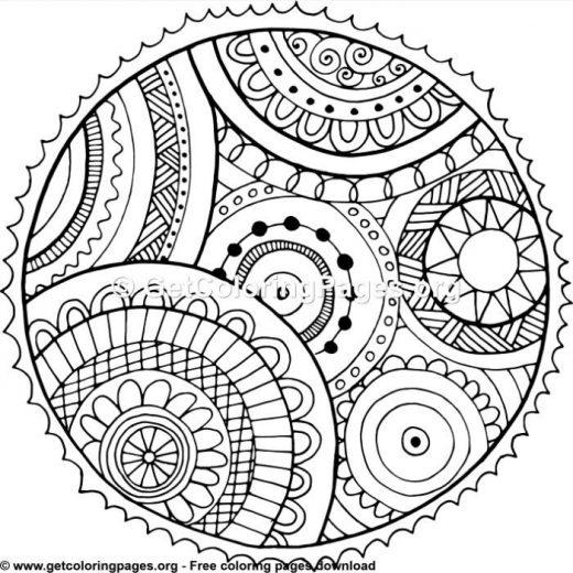 coloring circle patterns circle patterns colouring pages getcoloringpagesorg coloring circle patterns