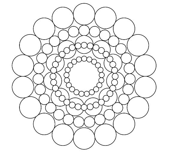 coloring circle patterns coloriage mandala celtique avec motif de cercle coloring circle patterns