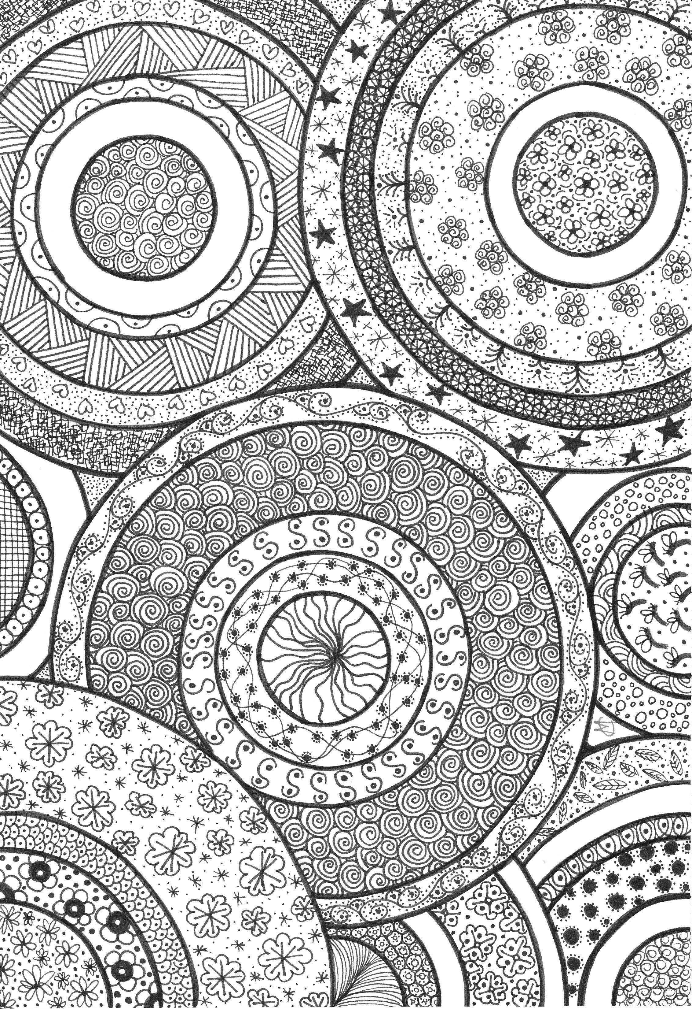 coloring circle patterns geometric coloring pages make them fresh and colorful circle coloring patterns