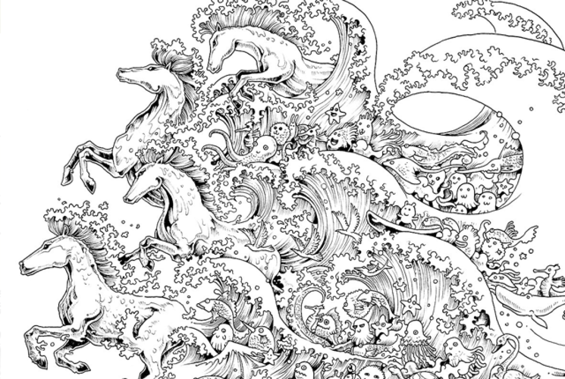 coloring for adults online free nymph printable adult coloring page from favoreads online for coloring adults free