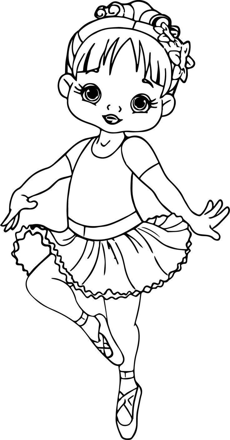 coloring for girls ballerina cartoon girl coloring page wecoloringpage coloring girls for