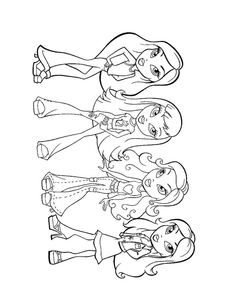 coloring for girls coloring pages little girl desenhos para colorir coloring for girls