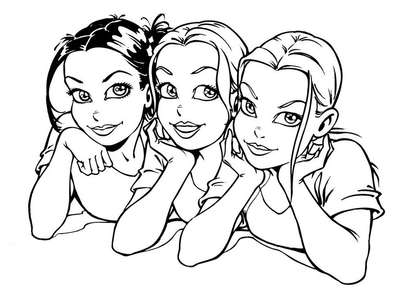 coloring for girls interactive magazine beautiful girl coloring pages for coloring girls