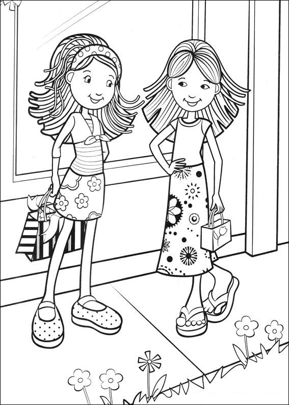 coloring for girls kids n funcom 65 coloring pages of groovy girls girls coloring for