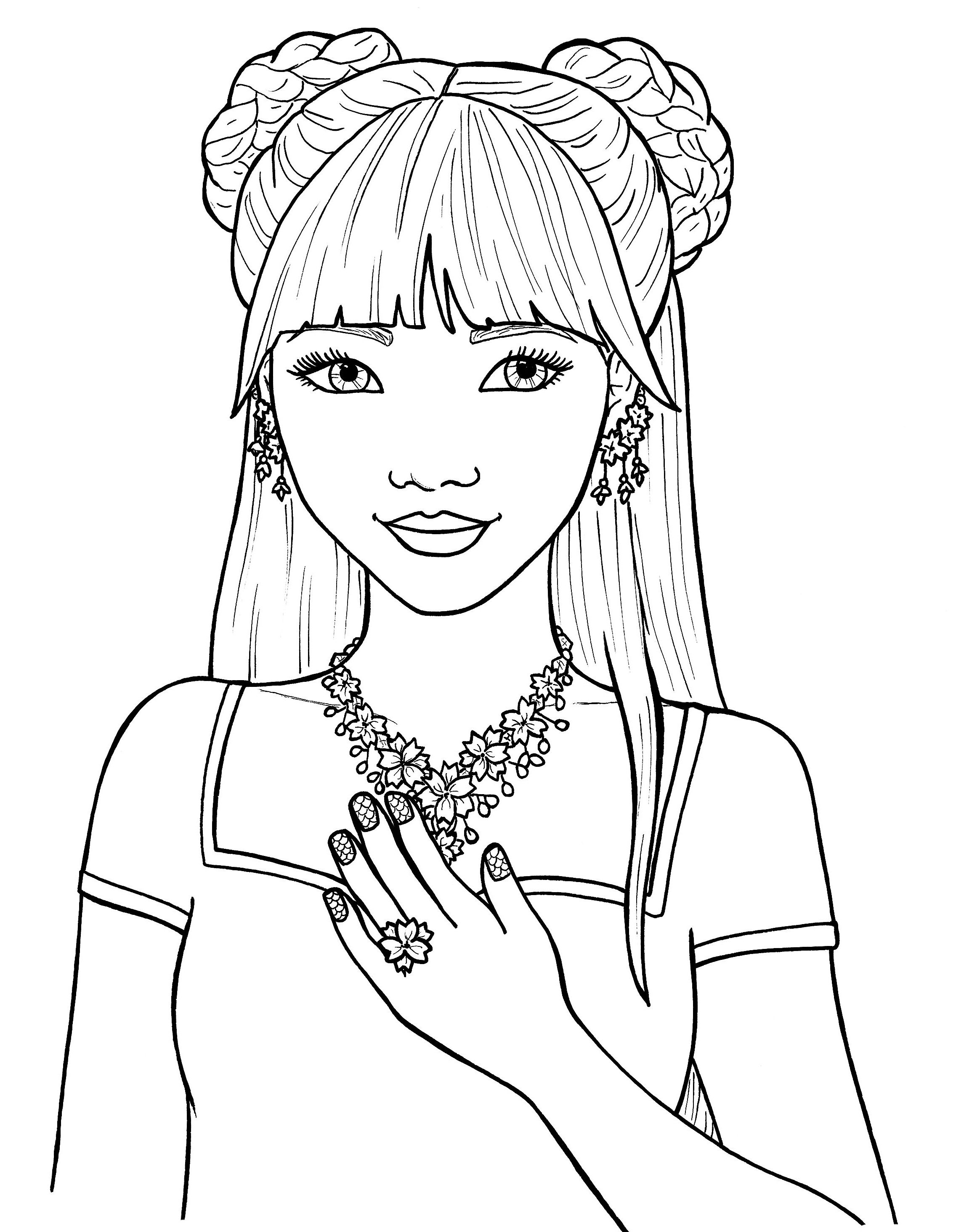 coloring for girls pretty girls coloring pages free cute coloring pages girls for coloring