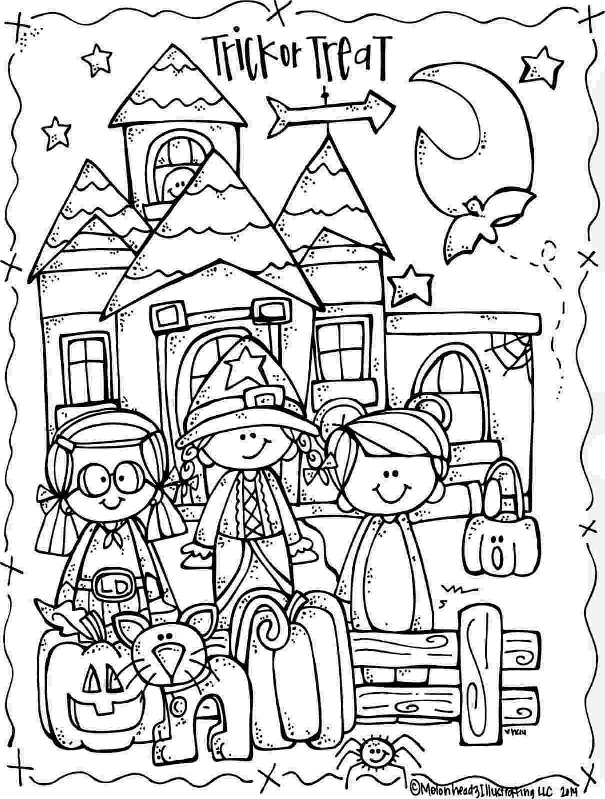 coloring halloween pages free halloween coloring pages for kids or for the kid in you halloween pages coloring