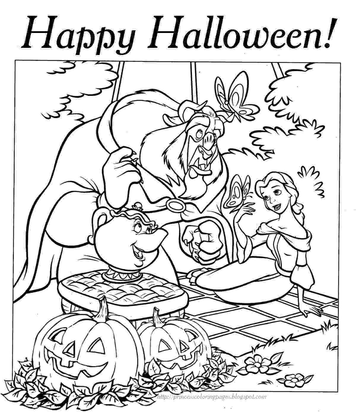 coloring halloween pages princess coloring pages coloring halloween pages