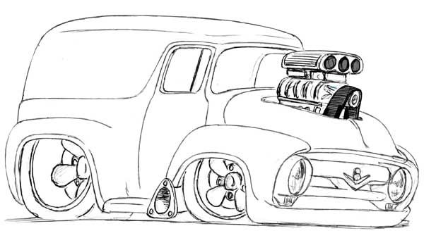 coloring hot rod best 50 coloring hot rod images on pinterest coloring hot rod coloring