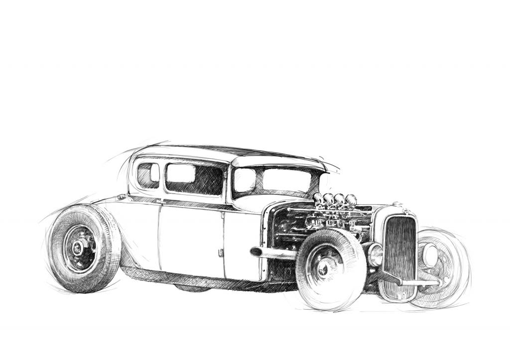 coloring hot rod bwanadevil art the amazing ed quotbig daddyquot roth coloring rod hot