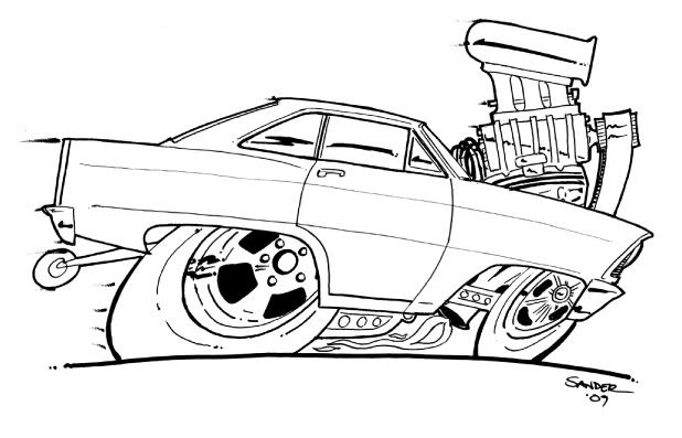 coloring hot rod hot rod coloring book chevy nova colouring pages page 2 rod coloring hot