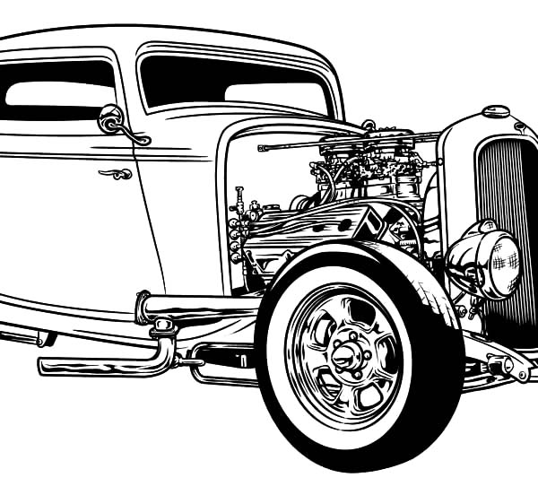 coloring hot rod hot rod coloring page bing images inspiration und coloring hot rod