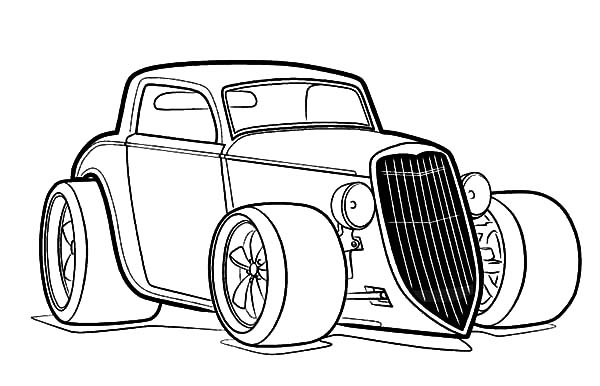 coloring hot rod hot rod coloring pages sketch coloring page coloring rod hot 1 1