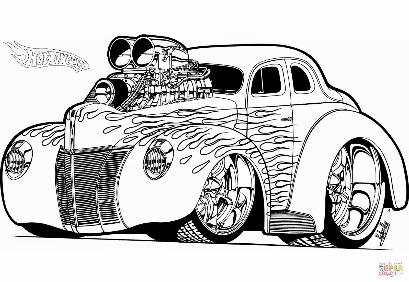 coloring hot rod hot rod coloring pages to print download free coloring hot coloring rod