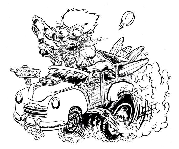 coloring hot rod lowrider coloring pages coloring home coloring rod hot