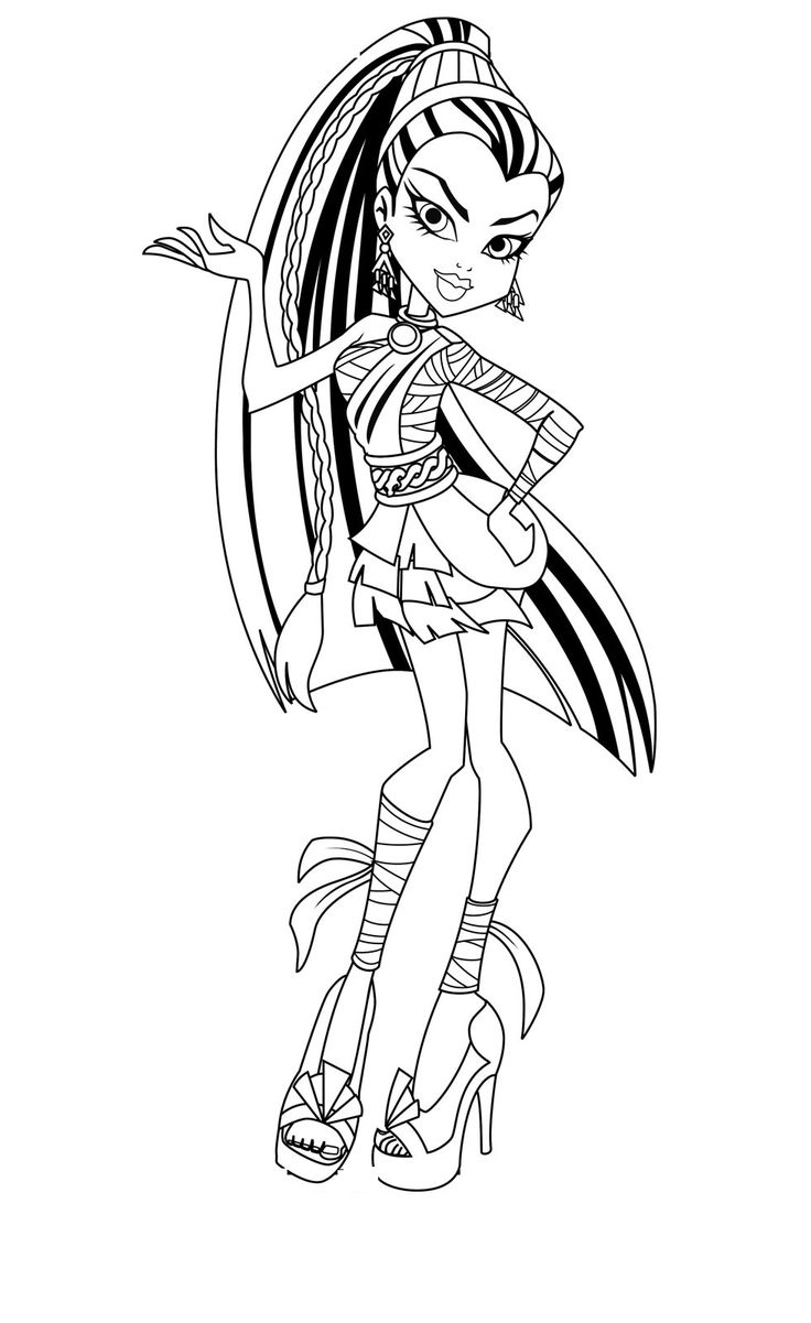 coloring monster high monster high coloring pages getcoloringpagescom high coloring monster