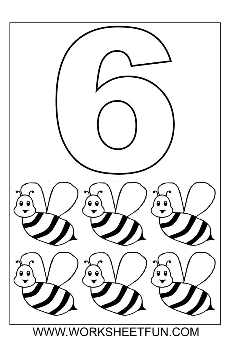 coloring page for 6 number pictures to color number 6 coloring page page for coloring 6