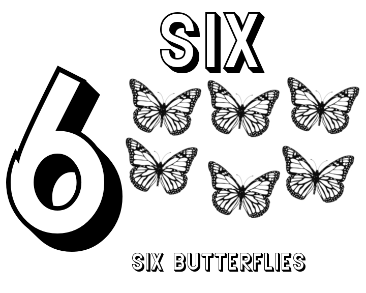 coloring page for 6 pattern number 6 coloring pages for kids counting numbers coloring 6 for page
