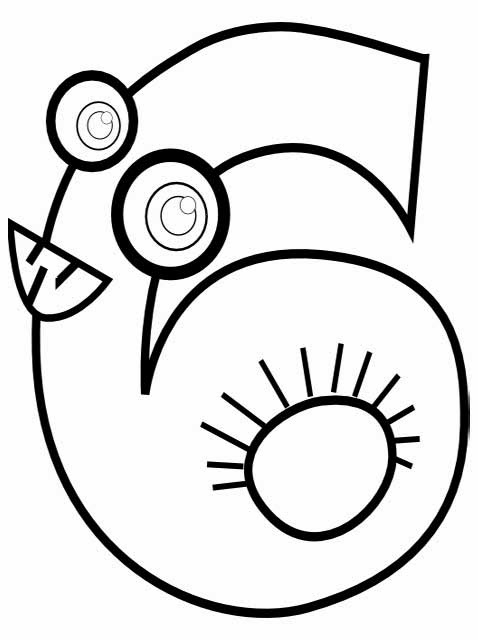 coloring page for 6 standard letter printables free alphabet coloring page page coloring for 6