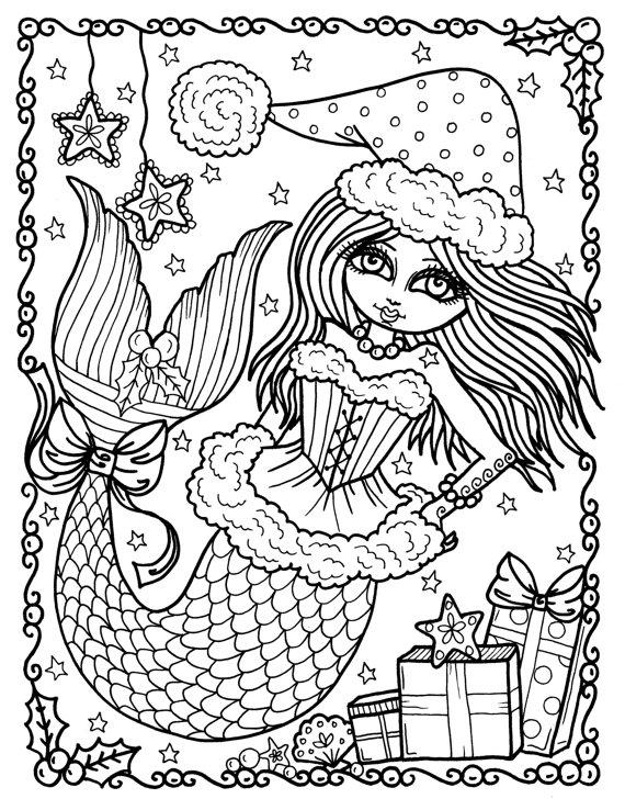 coloring page mermaid 30 stunning mermaid coloring pages mermaid page coloring 1 2