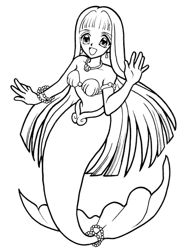 coloring page mermaid mermaid coloring page stock illustration download image mermaid coloring page
