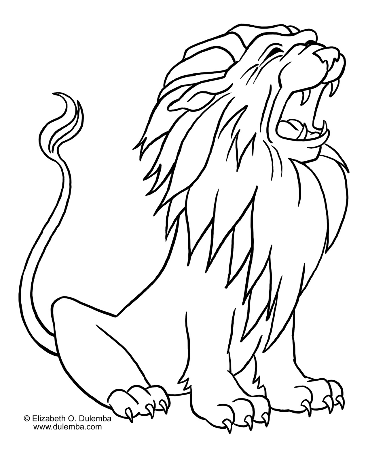 coloring page of a lion african lion coloring page free printable coloring pages of a lion coloring page