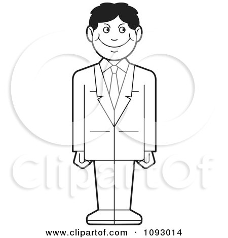 coloring page of a man clipart of a silhouetted businessman leaning against a a page of coloring man