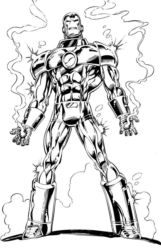 coloring page of a man iron man the avengers best coloring pages minister page a coloring man of