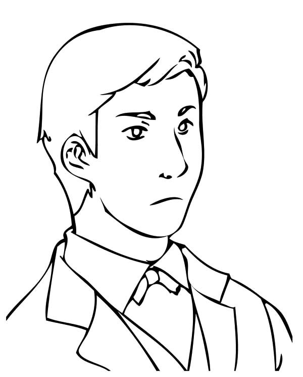 coloring page of a man wiseman coloring page of coloring a page man