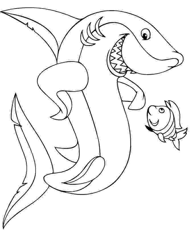 coloring page of shark shark coloring pages and posters shark page of coloring