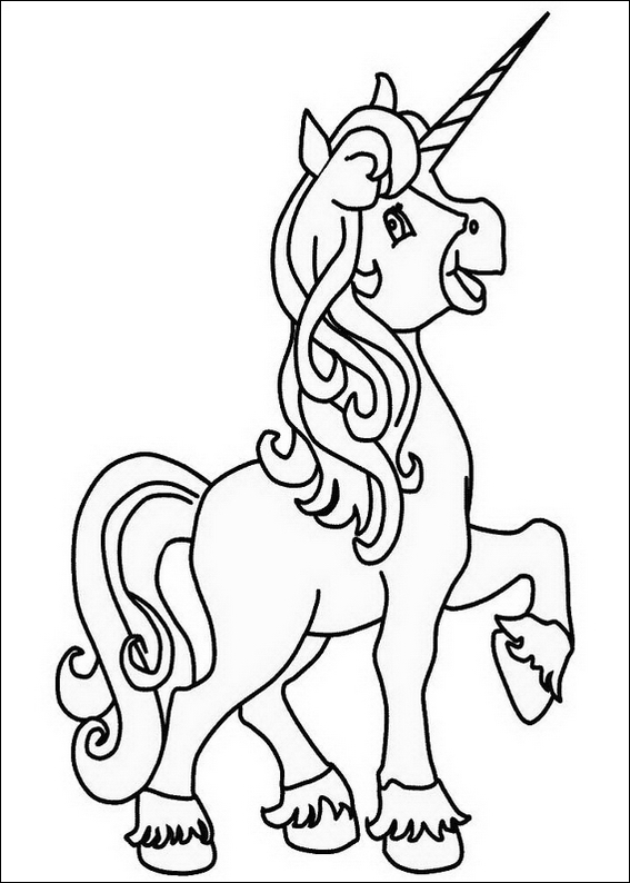 coloring page unicorn free baby bingo template printable blank auto electrical unicorn coloring page
