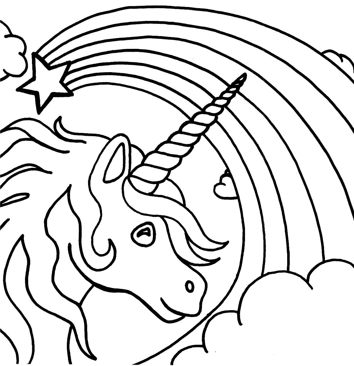 coloring page unicorn free printable unicorn coloring pages for kids page unicorn coloring