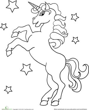 coloring page unicorn free printable unicorn coloring pages kids unicorn coloring page