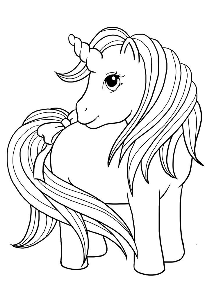 coloring page unicorn unicorn color pages for kids loving printable unicorn coloring page