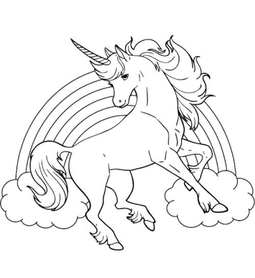 coloring page unicorn unicorn coloring pages printable learning printable unicorn coloring page