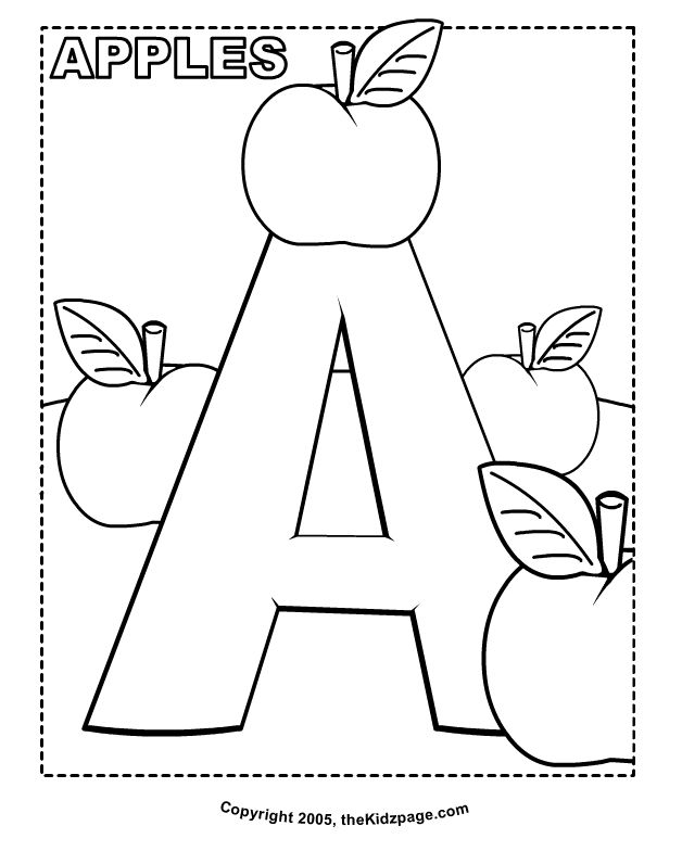 coloring pages alphabet free a is for apples free coloring pages for kids printable alphabet pages free coloring