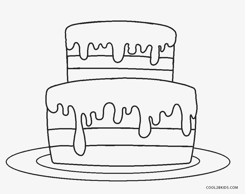 coloring pages birthday cake cake coloring page twisty noodle pages cake birthday coloring