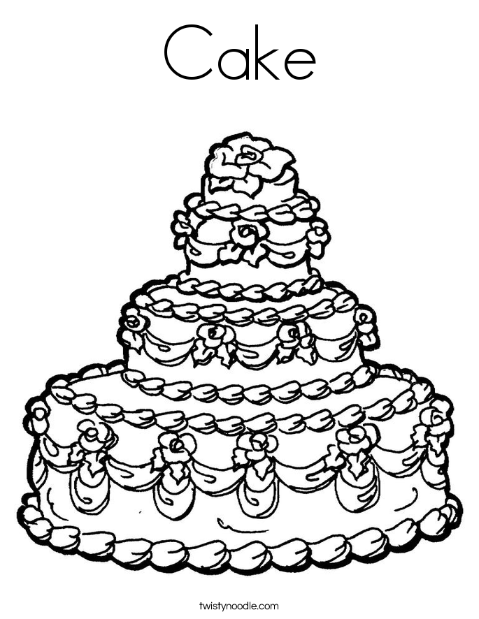 coloring pages birthday cake free printable birthday cake coloring pages for kids birthday coloring cake pages