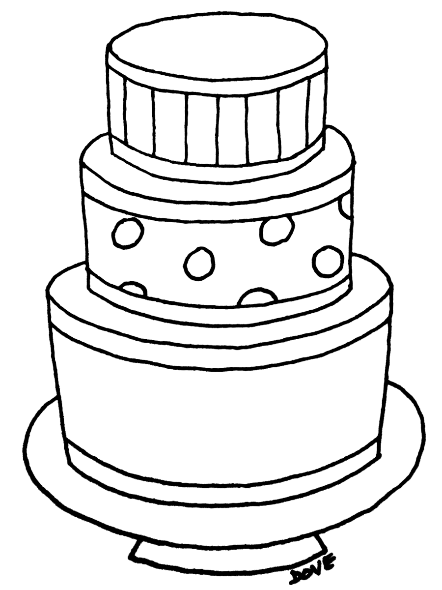 coloring pages birthday cake happy birthday to meand you pages cake coloring birthday