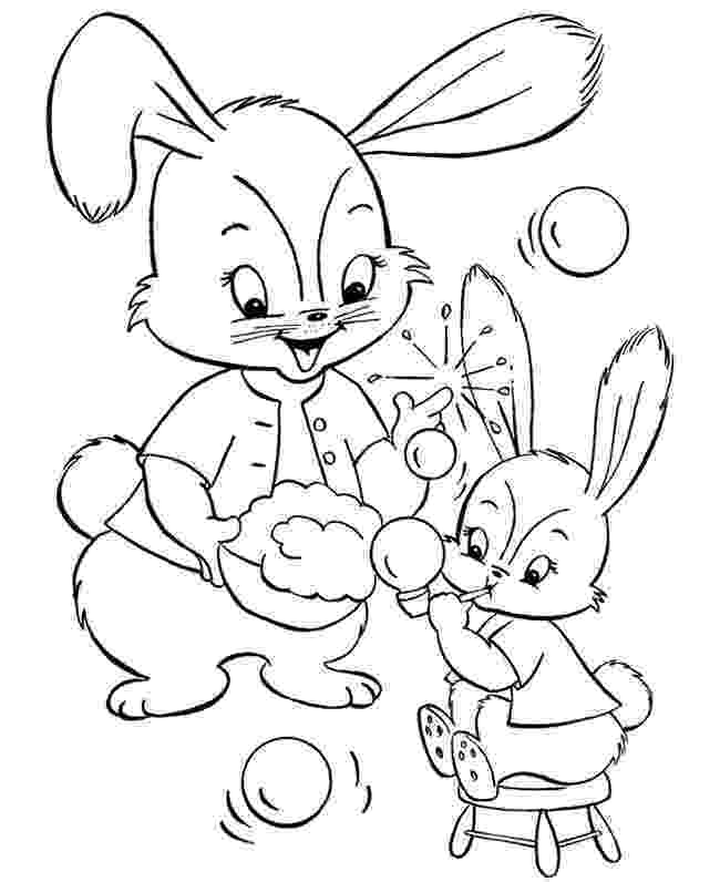 coloring pages bunnies printable adorable baby cottontail rabbit bunny coloring page printable pages bunnies coloring