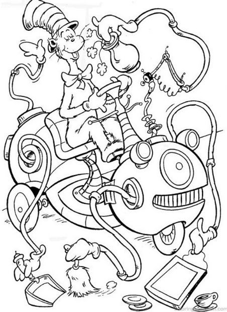 coloring pages cat in the hat 31 best sam i am baby shower images on pinterest dr hat the in coloring pages cat