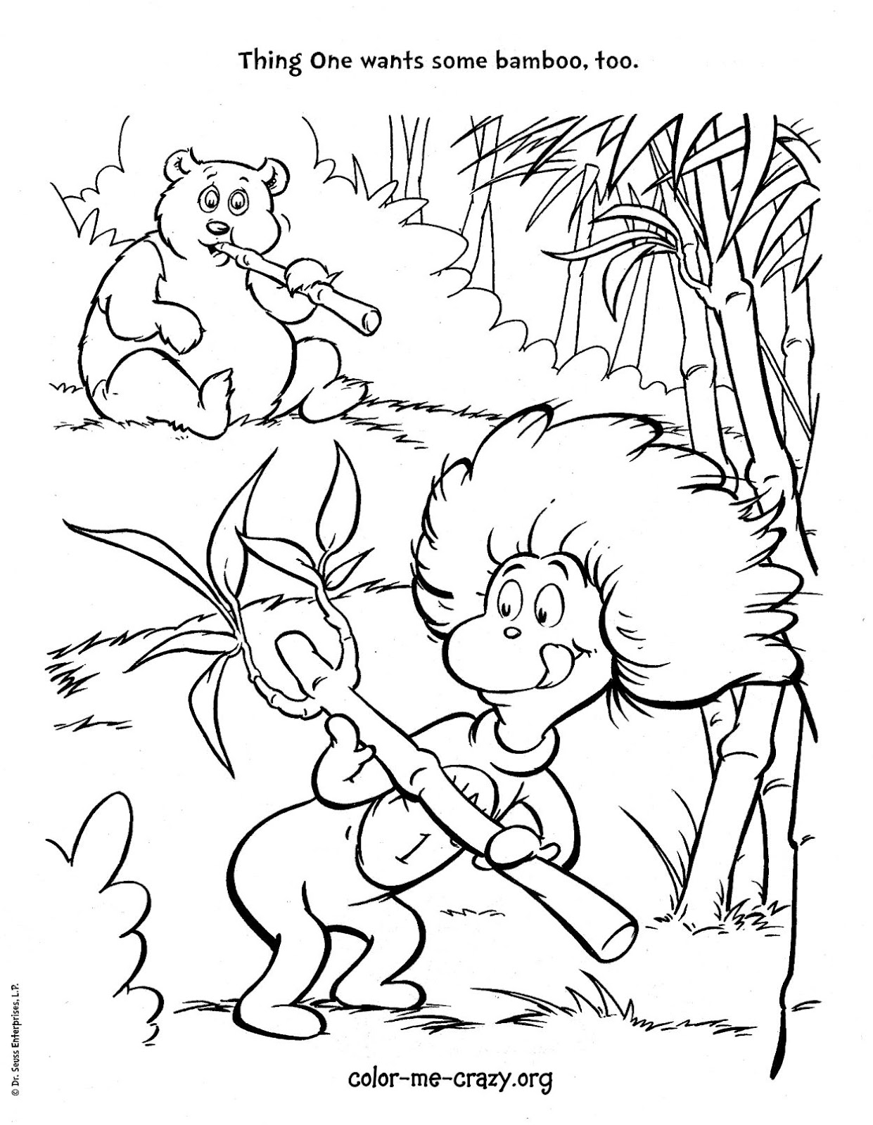 coloring pages cat in the hat colormecrazyorg the cat and the hat is back pages in hat cat coloring the
