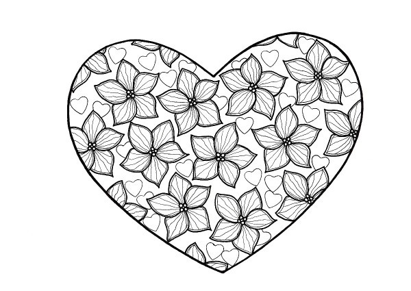coloring pages for adults heart 56 heart shape coloring pages gallery for heart shapes to for adults coloring heart pages