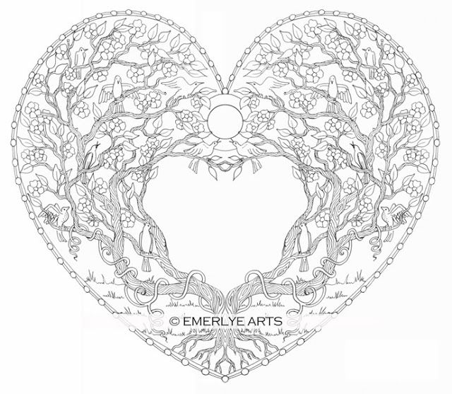 coloring pages for adults heart adult coloring page for grown ups heart by bigtranchsoap heart coloring adults for pages