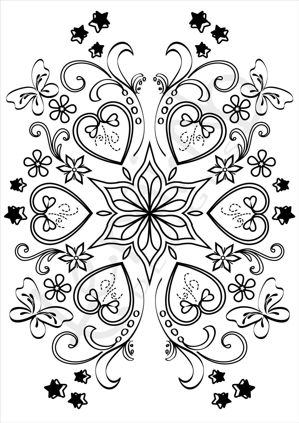 coloring pages for adults heart beyond the fringe psychedelic love heart pages for coloring adults heart