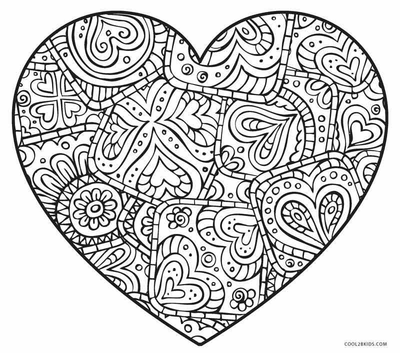 coloring pages for adults heart creative collective design adult coloring books pages heart adults for coloring