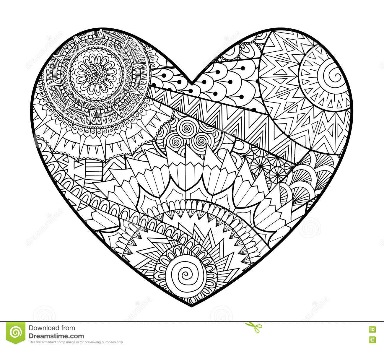 coloring pages for adults heart free printable heart coloring pages for kids cool2bkids heart for adults coloring pages